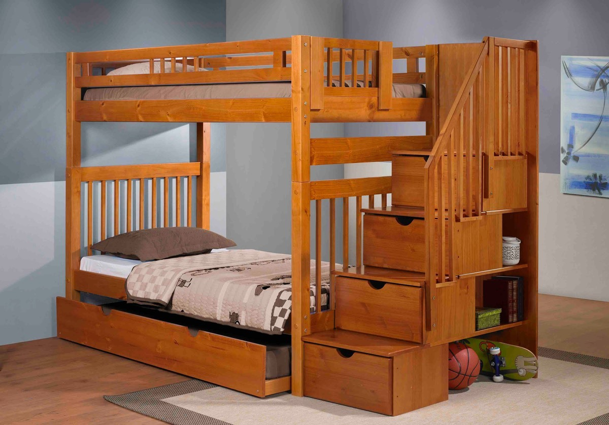 Innovations - Stairway Bunkbed with Staircase