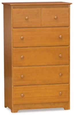 Atlantic Furniture Chest - Caramel Latte