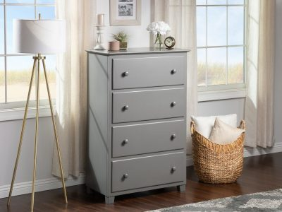 Atlantic Furniture Chest - Grey
